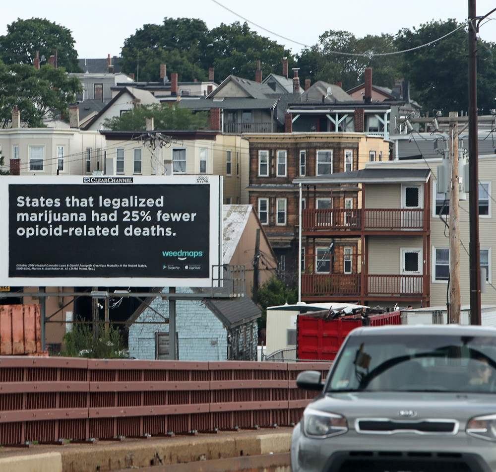 Activists buying billboards to show cannabis can treat opioid addiction 1 of 2 Indiana NORML seeks to combat the states opioid crisis with commonsense cannabis billboards