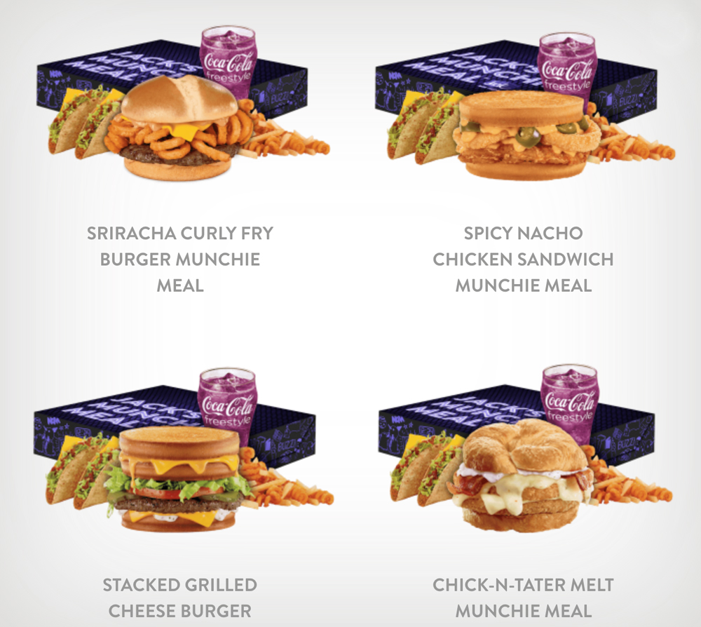 JackInTHeBoxx This fast food chain just released a munchie meal openly dedicated to stoners
