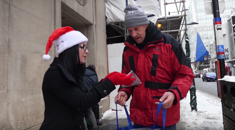 AmyAnonymous Why homeless people in Canada get free weed during the holidays