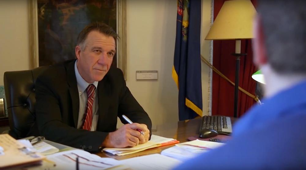 Governor Phil Scott BREAKING NEWS: Vermont legalizes recreational marijuana