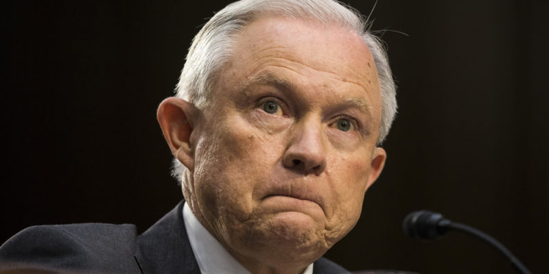 JeffSessions1 800x400 New bill would let states legalize weed without fear of the federal government